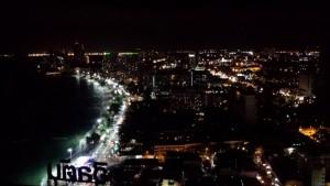 ヒルトンホテル 夜景