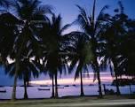 パタヤビーチ 夕暮れ